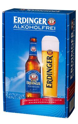 Präsentkarton ERDINGER Alkoholfrei 0,33 L