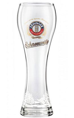 Schneeweiße-Glas 0,5 L