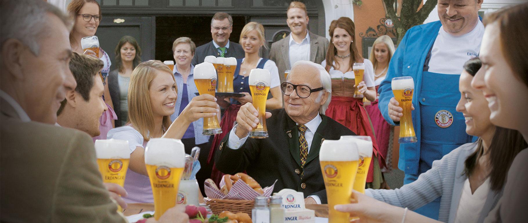ERDINGER Weißbräu celebrates anniversary