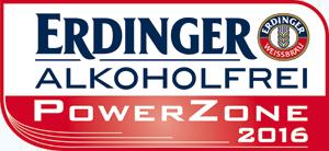 ERDINGER Alkoholfrei PowerZone Logo