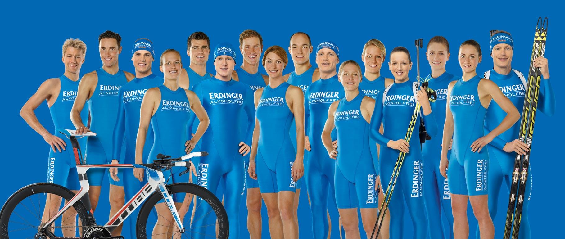Unsere Athleten