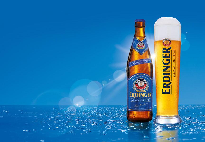 Repositioning of ERDINGER Alkoholfrei